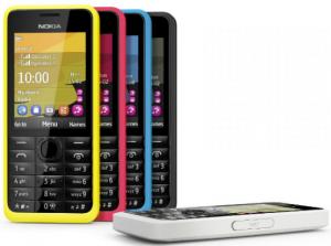 Nokia 301 opt