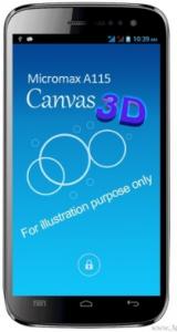 Micromax Canvas 3d